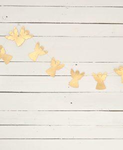 www-jetathome kerstslinger papieren engeltjes