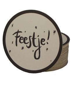 www.jetathome.nl Mijn Stijl - bierviltjes Feestje