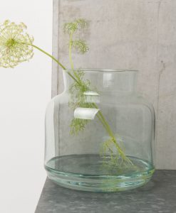 www.jetathome.nl Urban Nature Culture Vase Recycled Glass 22x23 cm