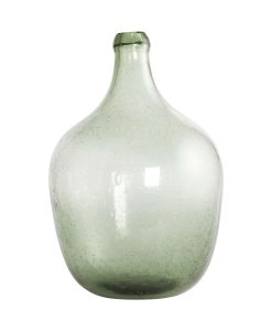 www.jetathome.nl House Doctor vaas Rec van  lichtgroen gerecycled glas  28,5x19,5 cm