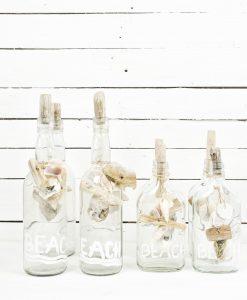 www.jetathome.nl  handgemaakte Beach flessen van gerecycled glas