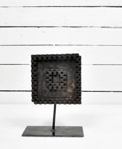 www.jetathome.nl vintage stempels op metalen voet 1