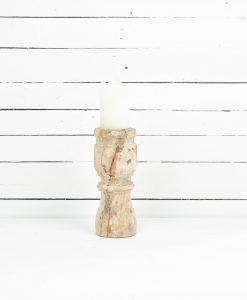 www.jetathome.nl vintage houten kandelaar 3